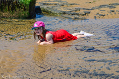 Lie down? (karllaundon) Tags: family sea summer sun cute beach fun happy seaside day child laugh northeast rockpool redcar