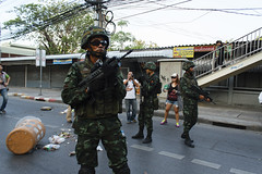 20140524-anti coup day 2-94 (Sora_Wong69) Tags: thailand bangkok military protest soldiers anti activist politic coupdetat martiallaw