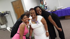 Sis. Middlebrook and Rhonda Ray at Metro COC in Indianapolis.