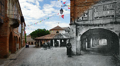La Halle in Auvillar ... Now and then ... (David B. - just passed the 7 million views. Thanks) Tags: street plaza new old blackandwhite white black france color colour cars car river square town hall ancient downtown place postcard riviere 19thcentury 21st bank rivière berge pont grains then arcades now riverbank 20thcentury rue tarn halle recent mairie 19th 1905 1900s nowadays a77 2000s 21stcentury vallée tarnetgaronne midipyrénées 1650 auvillar 2013 centertown halleauxgrains 2010s a77v sonyalpha77 sony165028ssm sonydslta77v