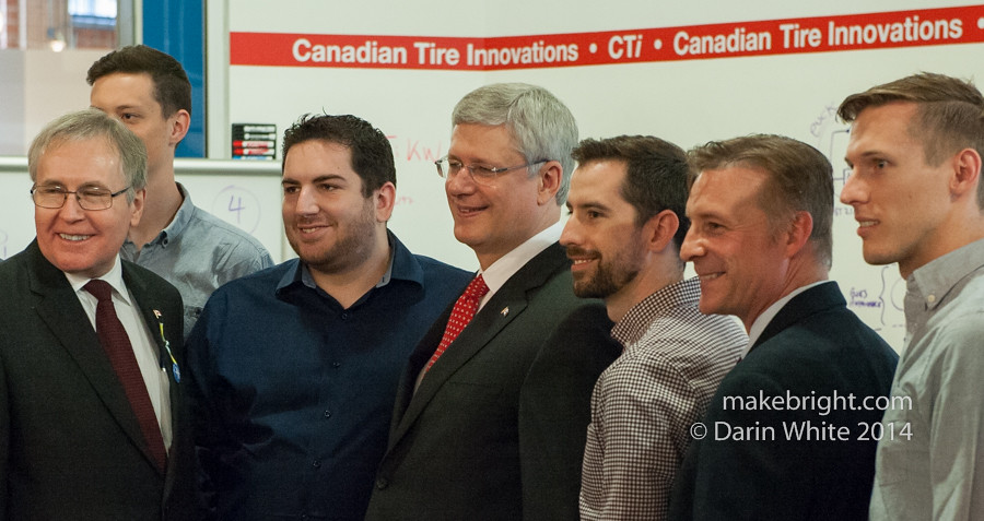 Prime Minister at Communitech - June 2014 194-2