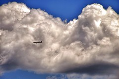 Cloud Porn (OstyleProductions) Tags: cloud clouds airplane flying high flight lookingup