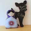 1ella (peanutenvy) Tags: russia handmade ooak sewing nursery plushies stuffies decor babushka sewn matryoshka peanutenvy vintagefabrics designerfabrics dussiandoll