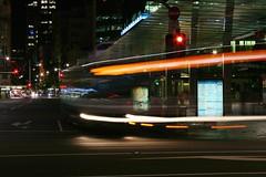 Queen Street (Brian Aslak) Tags: newzealand night noche traffic trails auckland noite aotearoa queenstreet   uusmeremaa naujojizelandija jaunzlande
