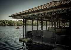 Roath Park Cardiff (technodean2000) Tags: park uk lighthouse lake water wales pond south cardiff roath