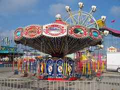 OH Columbus - Swing Ride (scottamus) Tags: carnival columbus ohio ride swings amusementpark franklincounty ohiostatefair