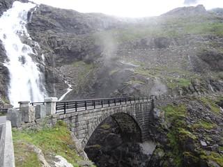 Trolls Path bridge Norway.
