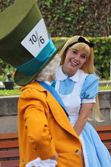Disneyland's 59th Birthday (jodykatin) Tags: disneyland aliceinwonderland facecharacter disneylands59thbirthday