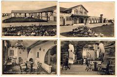 Squire's Gate Holiday Camp, Blackpool (trainsandstuff) Tags: vintage postcard retro lytham archival blackpool pontins holidaycamp squiresgate
