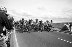 Tour de France (maxcady808) Tags: road sky film cycling yorkshire bikes rangefinder kodaktrix analogue tourdefrance tdf leicamp summiluxm35mmf14asph film2014072501