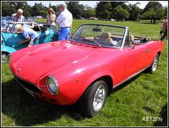 Fiat 124 Spider (Alan B Thompson) Tags: 2014 car helmingham suffolk eastanglia picassa