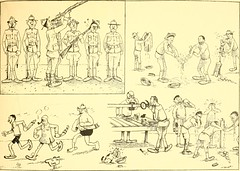 "Image from page 12 of ""Training for the trenches; a book of humorous cartoons on a serious subject"" (1917)"
