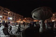Udine - Piazza San Giacomo a Friuli D.O.C. (giacomarco1981) Tags: city fountain night square cityscape fisheye fontana notte città udine piazzasangiacomo club16 udinecentro samyang8mm