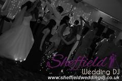Andrew & Lauren McCambridge - Hellaby Hall - Black & White  Wedding Photos by Sheffield Wedding DJ 0010