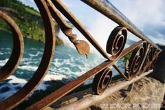 Niagara Railing (Jamie Hedworth) Tags: ontario canada niagarafalls railing bokehphotography jamiehedworthphotography