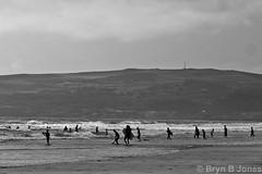 Surfs Up (Bryn B Jones) Tags: summer wales lumix coast surf cymru panasonic porth 2014 llyn lx5 ysgo