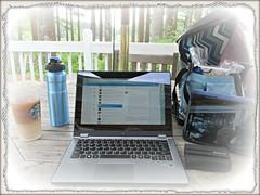 Blogging Where Life Takes Me (Shan Jeniah) Tags: camping nature writing lakeside blogging multipleexposures theviewfromhere startrekenterprise lovelychaos shanjeniah shanjeniahburton shanjeniahburtonwriter