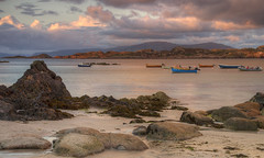 The Sound of Iona - Late Evening Light (silverlarynx) Tags: landscape scotland iona mull hebrides gloaming