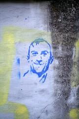streetartbergen868 (motveggen) Tags: streetart stencil mann bergen portrett gatekunst stensil sjablong menneske streetartbergen motveggen