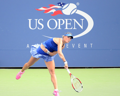 Lucie Hradecka - US Open (Tennis) - Qualifying Rounds - Lucie Hradecka