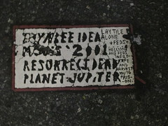 Toynbee Tile on 33rd Street and 8th Ave 2014 NYC 7457 (Brechtbug) Tags: street new york 2001 city nyc broken by tile dead idea office post manhattan may next severino midtown made tiles ave planet jupiter kubricks 33rd avenue farley 8th toynbee named verna crumbling sevy possibly the 2014 reclusive resurrect philadelphian 09082014