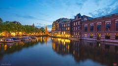amsterdam - postcard 2 (pRaTuL rAgHaV) Tags: longexposure travel summer reflection amsterdam river canal nikon europe angle netherland nikkor ultrawide sincity d800 uwa ultrawideangle f28g 1424mm