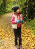 Amelie at Creswell Crags. Autumn 2012 (kevaruka) Tags: uk greatbritain autumn england history ford leaves digital canon 50mm flickr colours unitedkingdom bokeh daughter frontpage rs jurassic nottinghamshire 2012 englishheritage creswellcrags rsownersclub eos550d ilobsterit