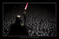 An audience with Darth Vader (Pikebubbles) Tags: macro table toy toys miniatures miniature starwars play creative vader darthvader diorama starwarstoys davidgilliver miniatureweekly davidgilliverphotography