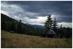 *** (Spartaxus) Tags: clouds analog landscape agfavista beskidy