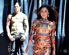 Santa Fe Indian Market (Larry1732) Tags: newmexico santafe fashion indianmarket nm fashionshow runway santafeplaza highfashion lamsa swaia fashioncollection