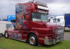 J & G Riddell Scania T-Cab X569WCN (andyflyer) Tags: truck lorry trucking scania haulage truckfest hgv roadtransport roadhaulage tcab x569wcn truckfestscotland2014 2014truckfest 2014truckfestscotland
