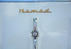 Nomad - 1956 Chevy Bel Air Nomad Detail (Brad Harding Photography) Tags: chevrolet wagon antique chevy chrome missouri nomad 1956 tracey gmc carshow 56 greaserama