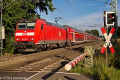 146126 heads to Emden Hbf at Bremen Mahndorf (37001 overseas) Tags: eisenbahn hannover db bremen bahn mahndorf mandorf raillocomotiverailway