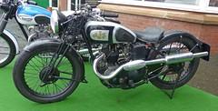 1936 AJS 250cc (Ayr Classic Motorcycle Club) Tags: show old uk classic bike vintage japanese scotland european scottish moto gb motorcycle biker british custom veteran timer motorrad