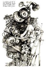 u (isabelle.souchon) Tags: paris architecture illustration portraits magazine layout graffiti design graphicdesign photo photographie noiretblanc collages aquarelle ange femme journal dessin webdesign peinture communication rats animation foule carricature mode souris storyboard rues publicité logos nus savant flou homme mouvement sites stopmotion encre naturemorte décors urbain fenêtres urbanisme croquis typographie vidéo bouteilles fusain affiches graphisme laboratoire characterdesign passants lavis lesfrigos contes petitefille vieillard édition miseenpage artgraphique squelettes causette artabstrait corpshumain dessindepresse événementiel palettegraphique croquisdenu esagpenninghen