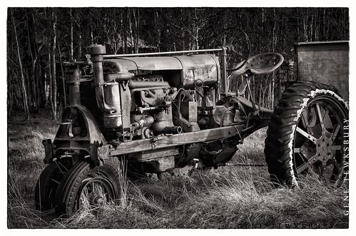 Rustic Tractor