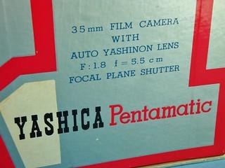 Yashica Pentamatic