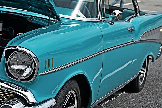 1957chevroletturquoisesharpcleanfastandverydesirablegreatcar fastandfunfoundinnorthcarolinaautoshowcarchevyclassicrideinterestingfunexplorephotographybyjw