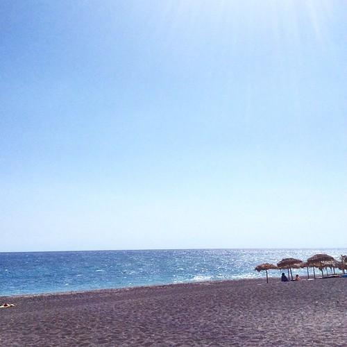 Indian summer, Santorini. Photo by Alexander Hadji