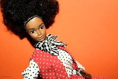 My Magic Curl AA Barbie, 1981. Barbie Wears the Best Buy Fashions n #3203, 1973. (limoneazzurroph) Tags: 3203