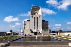 Radio Kootwijk, Building A (hadewijch) Tags: building netherlands architecture europe towers nederland structures architectural gelderland edifice edifices radiokootwijk 18200mmf3556 nikond90
