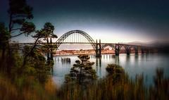 "Yaquina Bay Bridge (Keith ""Captain Photo"" Cuddeback) Tags: bridge newport oregoncoast captainphoto perfecthdrworkflow"