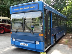 Tantivy 203 (Coco the Jerzee Busman) Tags: uk bus ford islands coach pointer transit cannon jersey swift channel leyland stringer wadham lcb plaxton tantivy