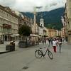 Innsbruck - bici square (Dwen 55) Tags: bike bicycle square lumix austria panasonic squareformat bici innsbruck bicicletta tirolo tz1 dmctz10