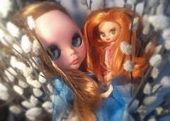 Blythe-a-Day September 30: Zen: Wyn and Little Ginnie