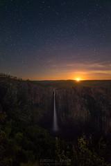 Moonlit Solitude (PhotoByTrace) Tags: moon night stars waterfall australia falls queensland setting wallaman photobytrace