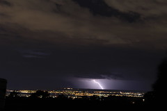 Lightning over Albuquerque 6-15-15 (CaptDanger) Tags: weather night clouds stormy lightning storms thunder lightningbolt afterdark stormclouds thunderstorms thunderandlightning cloudsstormssunsetssunrises canonsl1 stormsinnewmexico
