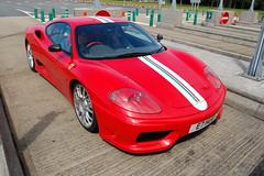 Ferrari Challenge Stradale (D's Carspotting) Tags: ferrari challenge stradale france coquelles calais red 20100613 e7hug le mans 2010 lm10 lm2010