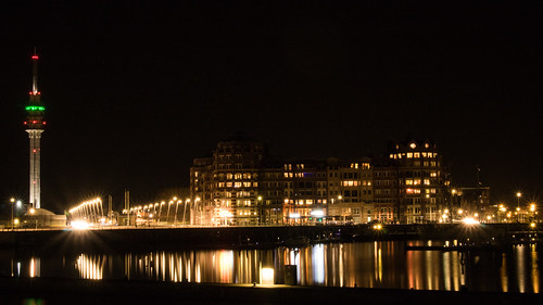 Batavia Haven by Night