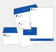 StationeryDesign6 (Logo For Work) Tags: stationery businesscard logo letterheads complimentsslips emailsignatures brandedwallpapers screensavers image creators branding graphic design services